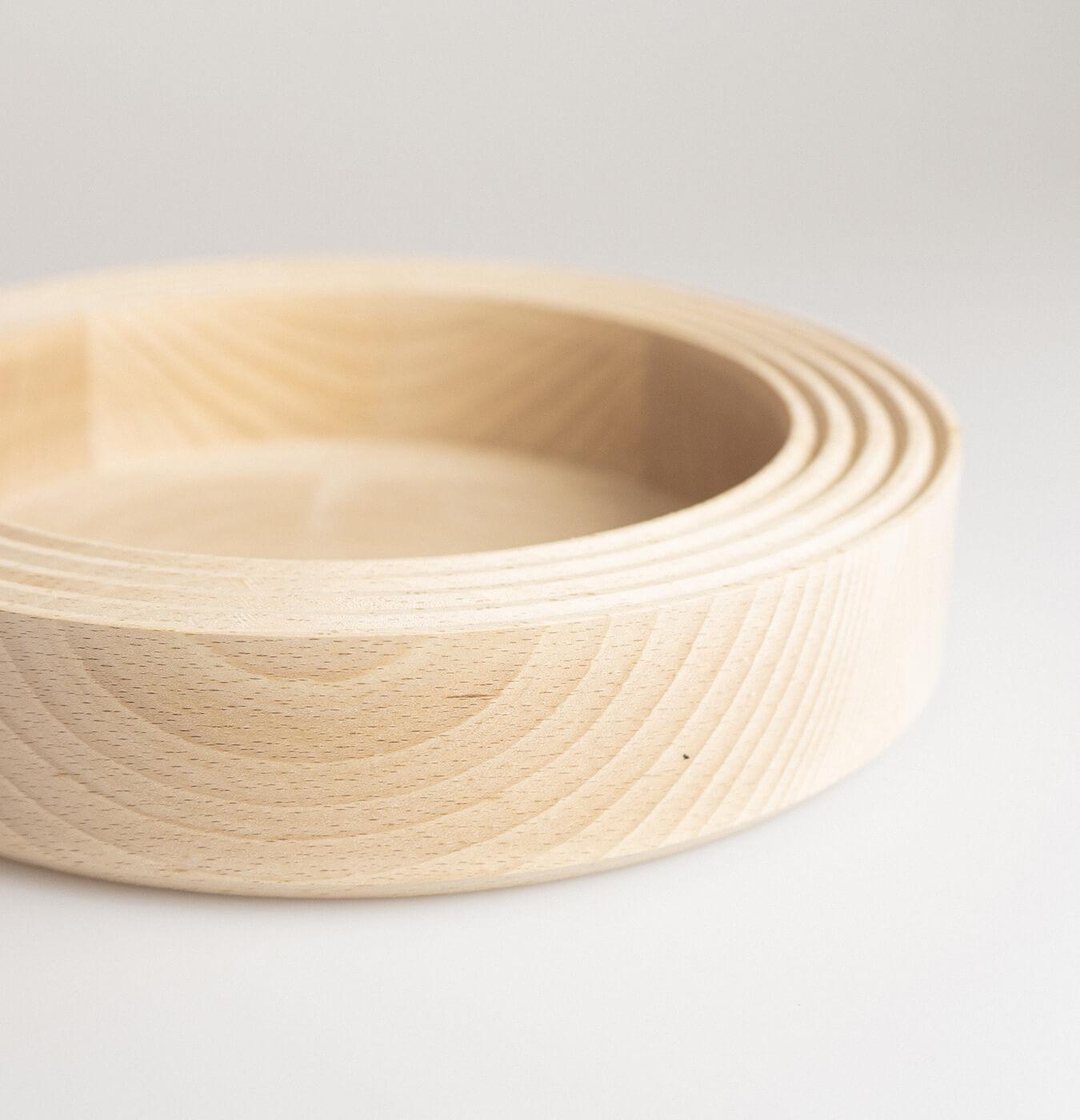 Centrotavola in legno di faggio