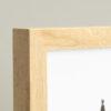 Cornice portafoto in legno massello