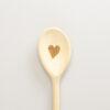 Mestolo icon cuore in legno di faggio