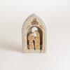 Presepe cupola in legno di abete