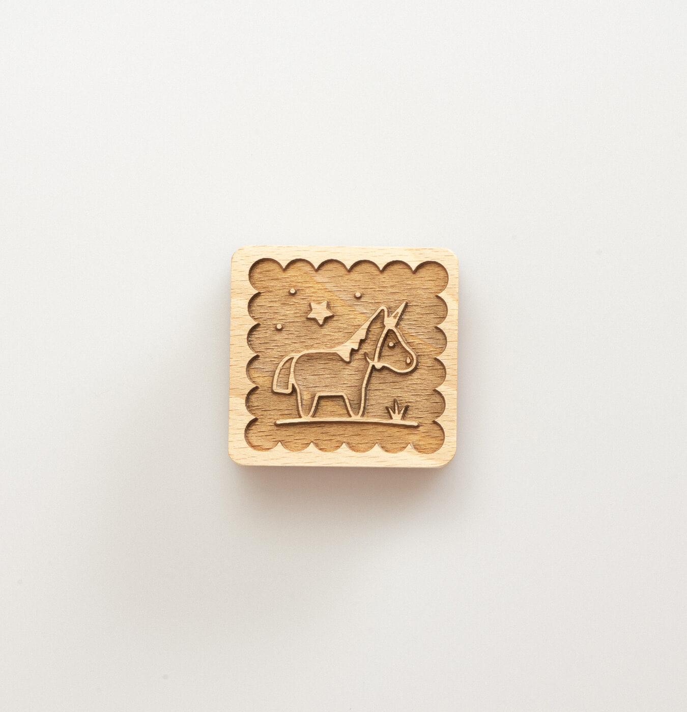 Stampino per biscotti unicorno