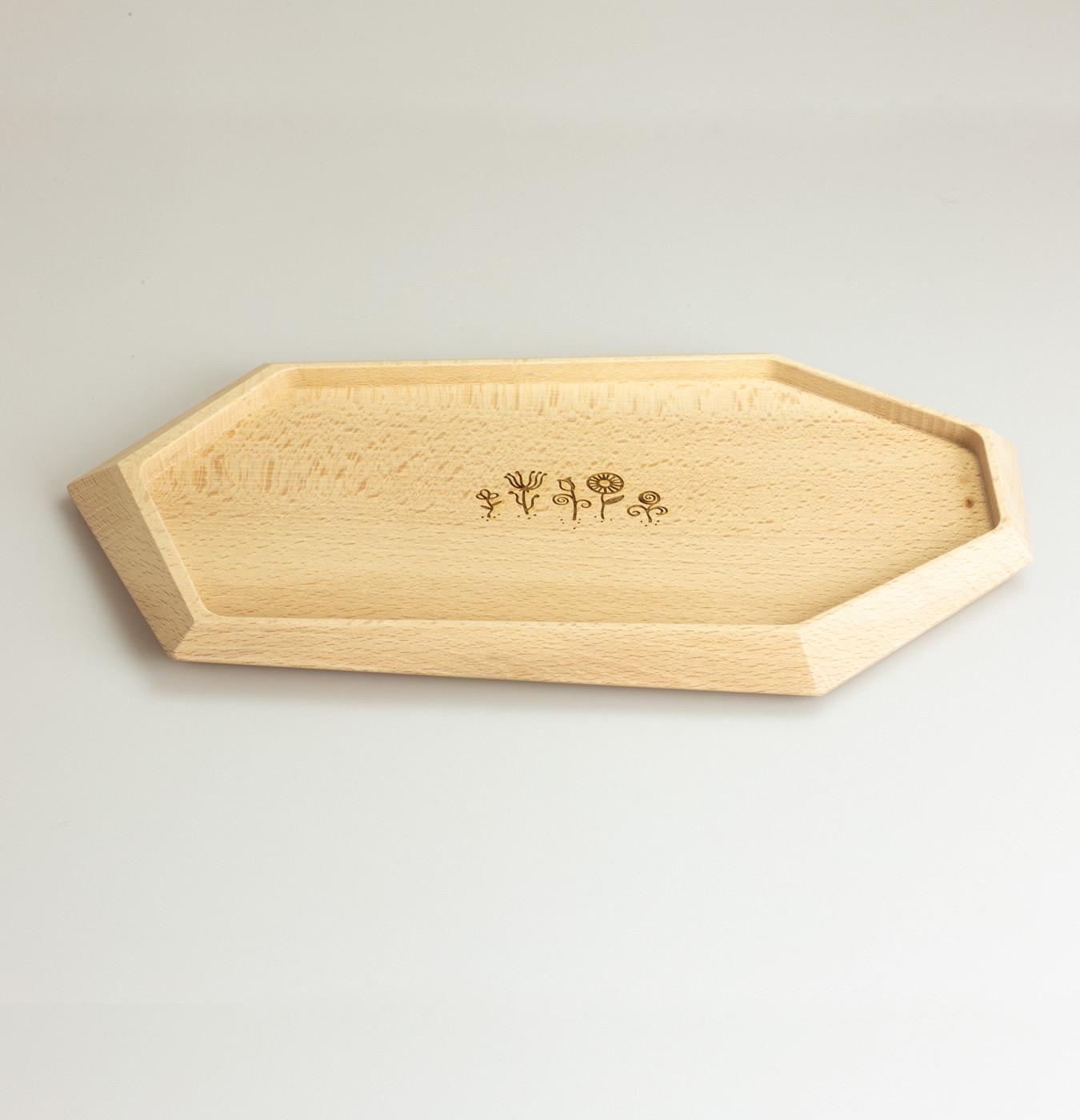 Vassoio in legno di faggio